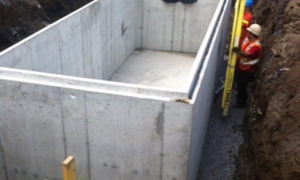 Installation d'un bassin de rétention | ViandeDunham