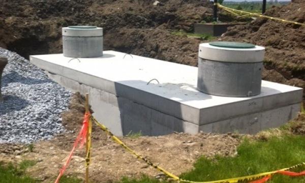 Installation d'un bassin de rétention| ViandeDunham