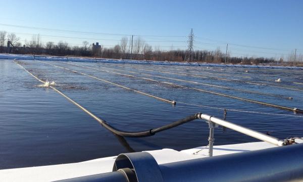 Nettoyage et réparation d'étang aéré | Ville de Terrebonne